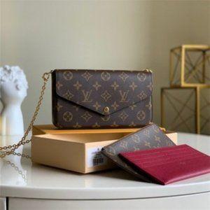 🎁 LV Pochette Felicie & Designer Shoulder Bag